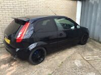 2007 Ford Fiesta Zetec 1.4 Slightly Modified Black