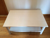 IKEA Hemnes Table basse blanche - 75*118 - Coffee Table White