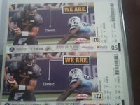 2 Tickets for Labour Day Classic- TiCats vs Argo's *Below Cost*