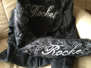 Women's Motorcycle Jacket - Joe Rocket (black fabric)
