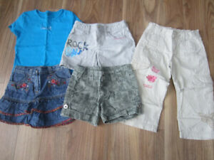 GIRLS SUMMER CLOTHES - SIZE 8 - $15.00 for LOT (5 ITEMS)