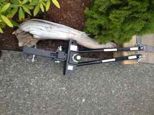 RV Pro Model weight distribution hitch and Stabelizer Bars