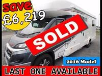 Auto-Trail Delaware Lo-Line Fiat *** SOLD *** MANUAL 2016