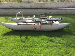 Bucks Bags 11 foot two person pontoon boat