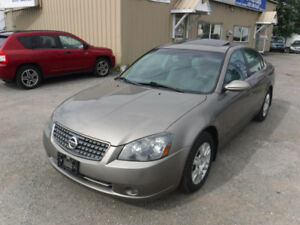 2005 Nissan Altima 2.5 Sedan CERTIFIED LOW KM !!!!!!!!!!!!!!!!!!