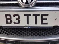 B3 TTE. PRIVATE REGISTRATION NUMBER