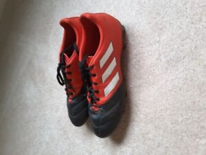 Adidas Soccer shoes- size 8