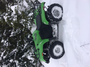 Arctic cat 366cc 4x4 low and high 2011