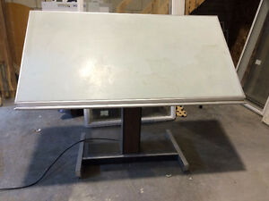 """For Sale:  Drafting Table with power up/down function 40""""x72"""""""