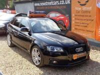 AUDI A3 1.6 TDI S LINE 5dr Black Manual Diesel, 2010