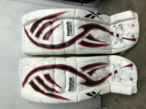 Goalie Pads-Catcher-Blocker SR