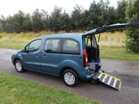 2012 Peugeot Partner Tepee 1.6 Hdi *NEW SHAPE* WHEELCHAIR ACCESSIBLE ADAPTED WAV