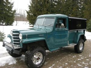 WANTED 1952 Willys Pickup