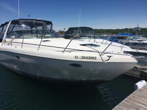 2002 Rinker 310 Fiesta Vee with trailer - can be viewed now!!!
