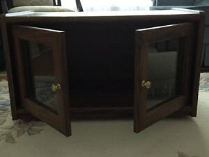 TV Stand, Antique 3 drawer card file, sewing machine table
