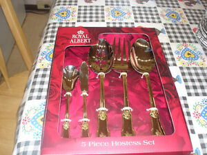 Royal Albert 5 piece Hostess Set