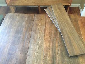 Table antique à 4 panneaux West Island Greater Montréal image 4
