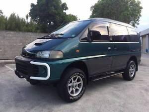 1997 Mitsubishi Delica Van/Minivan rego and rwc 7 seater diesel Springwood Logan Area Preview
