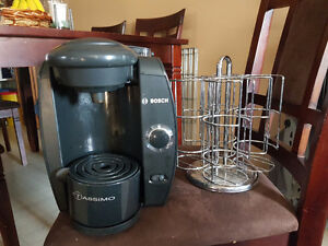 Tassimo Coffee Maker and Spinning Stand