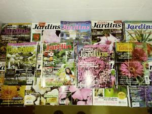 Fleurs plantes et jardins