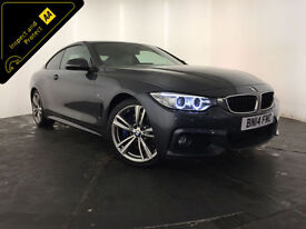 2014 BMW 430D M SPORT AUTO DIESEL COUPE 1 OWNER SERVICE HISTORY FINANCE PX