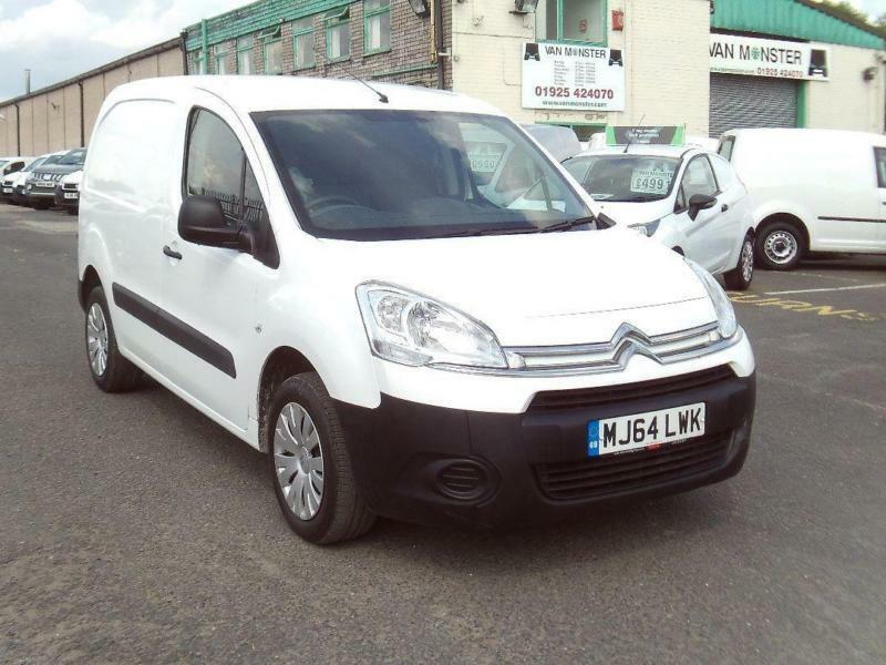 Citroen Berlingo 850 1.6HDI 90ps Enterprise DIESEL MANUAL WHITE (2014)