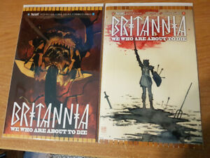 Britannia: We Who Are About to Die Complete Set Issues #1-4