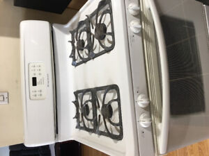 Used White Gas Stove -Frigidaire for sale