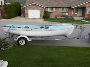 18 FT VENTURE BOAT TRAILER