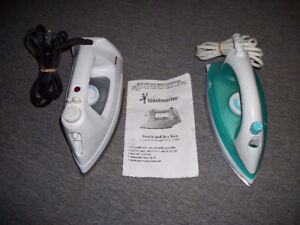2 IRONS Sold as a $5 Bundle