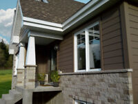 Skilled siding and roofing installers