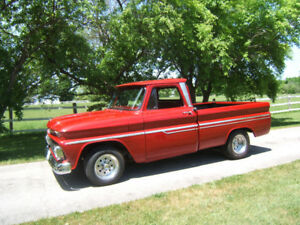this is a 1964 Chevy pick up truck (SOLD)