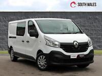 2015 15 Renault Trafic 1.6dCi Crew Van 6 Seats 2015MY LL29 115 Business COMBI