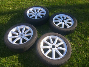 Smart Car Rims and Snow Tires