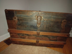 Large Retro Style Chest