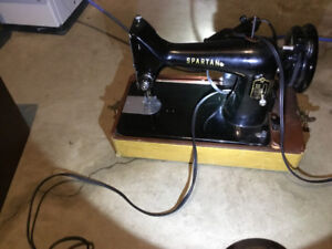 Singer spartan sewing machine