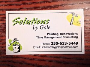 GALE'S SOLUTIONS - HANDY WOMAN Prince George British Columbia image 1