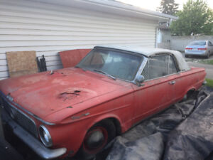 1963 Valiant Convertible Restoration project