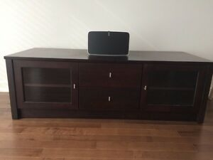 TV entertainment / media unit. Console Television