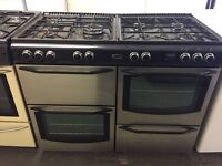 New world dual fuel range cookers