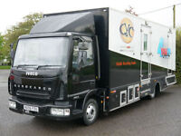 IVECO EUROCARGO MOBILE RECORDING STUDIO EXHIBITION SHOP RACE YOUTH TRUCK BUS VAN