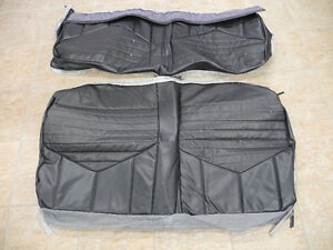 70 Cutlass S coupe rear seat covers, new