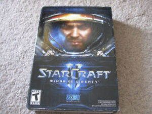 Starcraft 2 Wings of Liberty PC Game-Very good condition