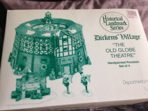 "DEPARTMENT 56 - ""THE OLD GLOBE THEATRE"" - #58501"