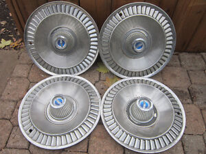 Ford Hubcaps = Ford Galaxie Mustang. $10. Each