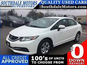 2014 HONDA CIVIC LX * POWER GROUP * HEATED SEATS * LOW KM