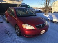 Reliable  2007 Toyota Corolla / 2 sets of tires