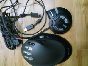 Microsoft SideWinder Strategic Commander & Game Voice Module