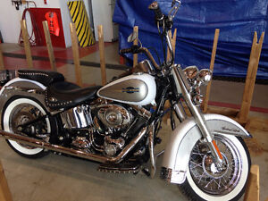 Two Heritage Softail Classics