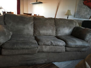 Micro fibre Couch Loveseat and Chair